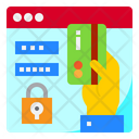 Secure Card Payment Card Payment Login Icon