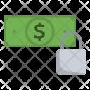 Secure Cash Dollar Icon