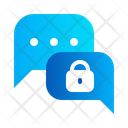 Secure chat Icon