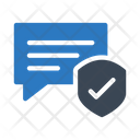 Secure Chat Protection Icon