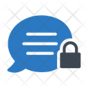 Private Message Security Icon