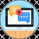 Confidential Talk Secret Chat Secure Communication Icon