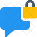 Secure Chat Message Icon