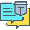 Secure Chatting Icon