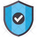 Secure Check Shield Security Icon