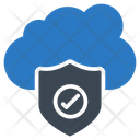 Secure Shield Cloud Icon