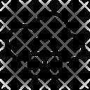 Padlock Cloud Computing Security Icon