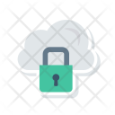 Secure Cloud Lock Icon
