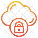 Padlock Storage Data Icon