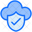 Secure Cloud Cloud Security Lock Icon