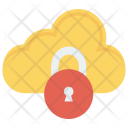 Lock Cloud Protection Icon