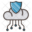Network Protection Cloud Icon
