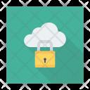 Secure Cloud Cloud Lock Icon