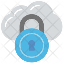 Cloud Padlock Computing Icon