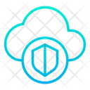 Cloud Protection Server Icon
