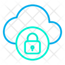 Secure Cloud Icon