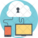 Secure Cloud Access Icon