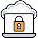 Secure Cloud Connection Icon