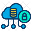 Secure Cloud Data Icon