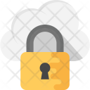 Cloud Padlock Security Icon