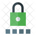 Secure code Icon