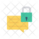 Secure Comment Lock Secure Icon