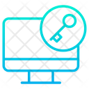 Key Computer Monitor Icon