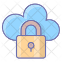 Secure Connection Lock Data Icon