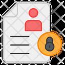 Secure Cv Icon