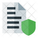 Secure Data Data Protection Safe Data Icon