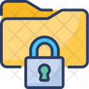 Data Locked Secure Icon