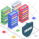 Secure Database Database Protection Secure Server Icon