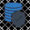 Secure Database Database Secure Icon