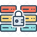 Secure Database Password Security Icon