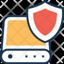 Database Shield Defence Icon