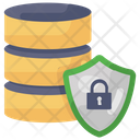 Server Security Server Protection Secure Database Icon