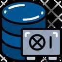 Data Safe Secure Storage Icon