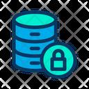 Database Protected Database Secure Database Icon