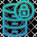 Data Database Lock Icon