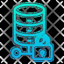 Data Data Storage Lock Data Icon
