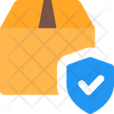 Secure Delivery Delivery Protection Box Shield Icon