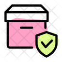Secure Delivery Delivery Protection Package Shield Icon