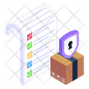 Safe Parcel Secure Delivery Protected Delivery Icon