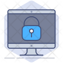 Computer Lock Security Icon