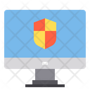 Protection Defence Cloud Data Lock Cloud Secure Cloud Icon
