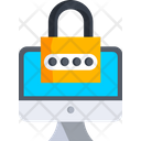 Secure Device Password Protection Lock Computer Icon