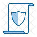 Copyright Secure Document Icon
