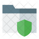 Secure Document Document Secure Icon