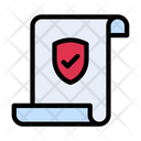 Secure Document File Protection Document Icon