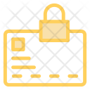 Document Secure Lock Icon
